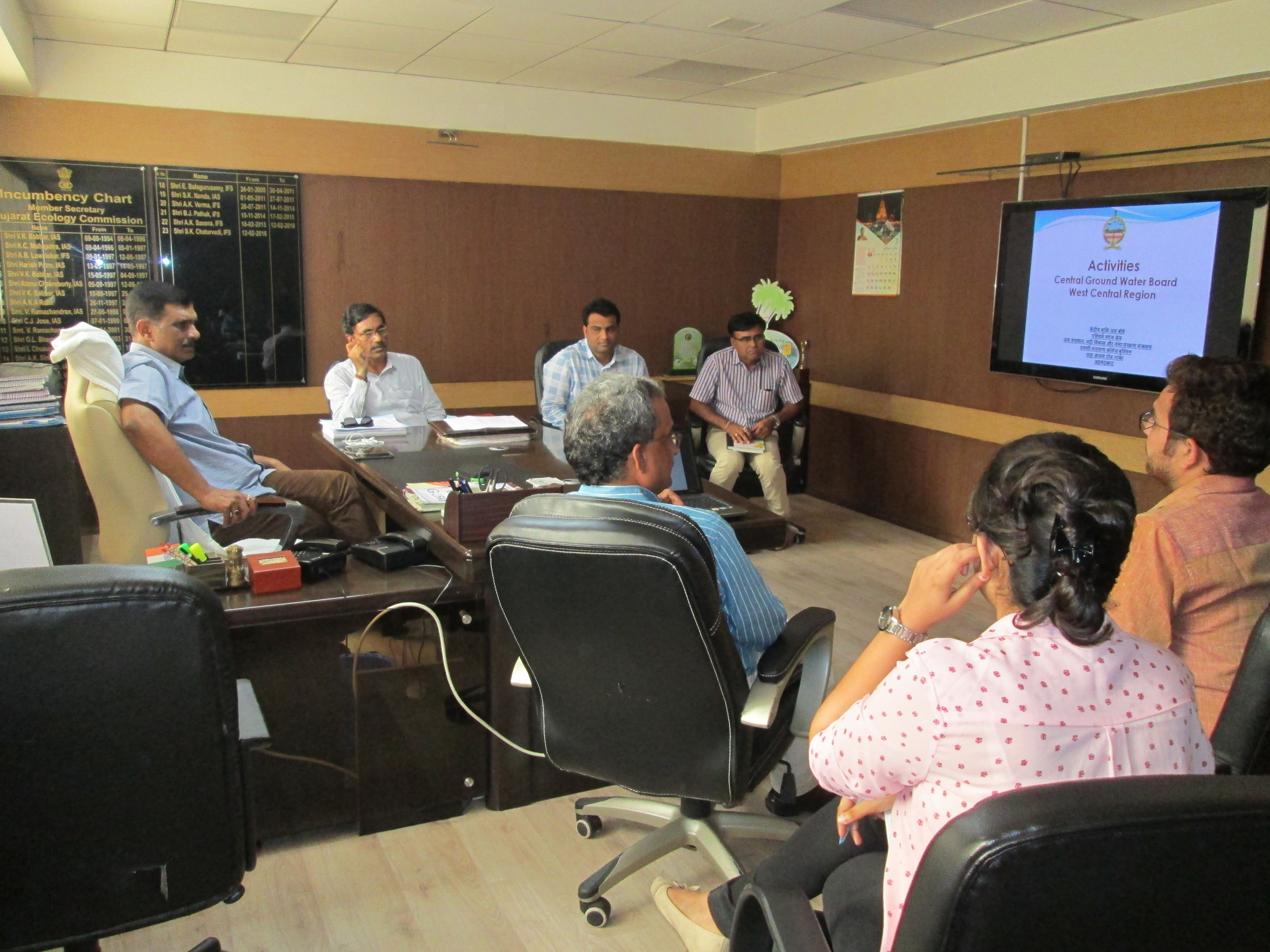 Sensitization of GEC Team on Status of Ground Water